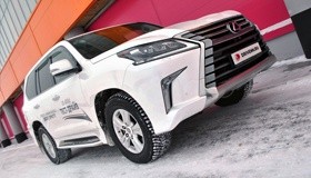 Lexus LX: Отвергая компромиссы
