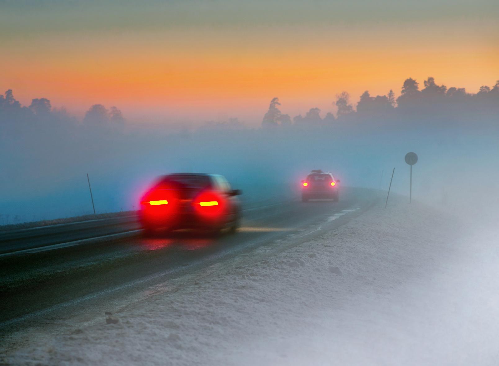 Туман фото