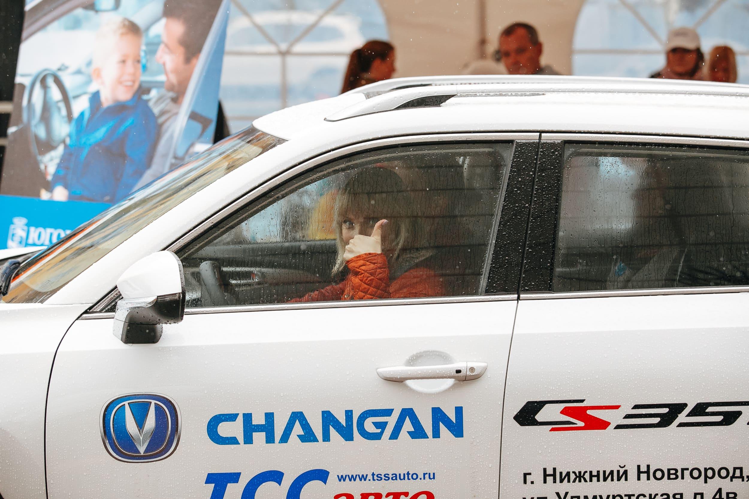 Тест-драйв Чанган
