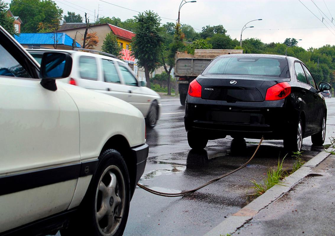 Штраф за неработающую аварийку